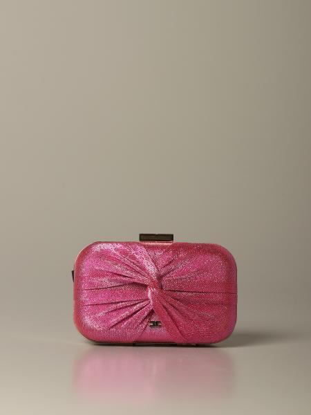 Elisabetta Franchi 金银丝面料手包