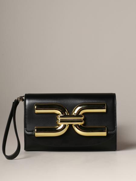 Elisabetta Franchi logo 真皮手包