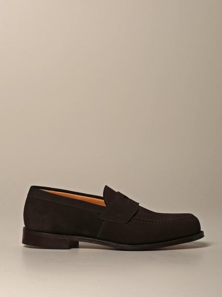 Dawley Church's suede moccasin with sleeper