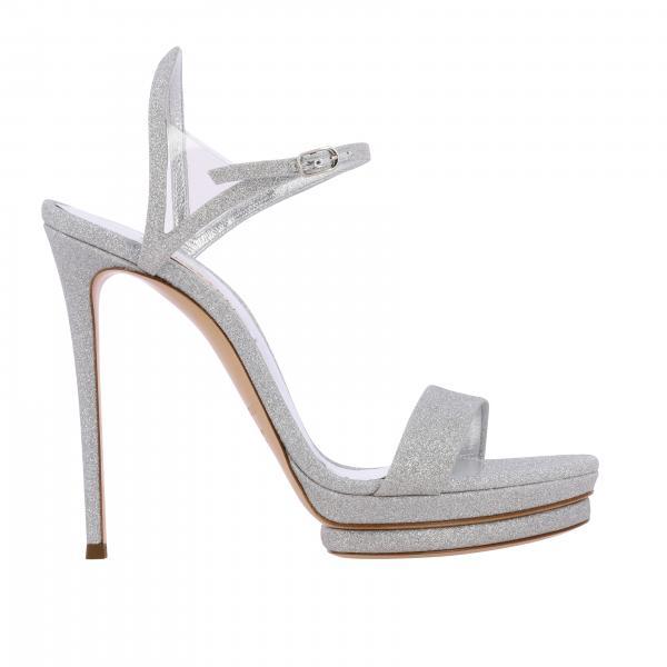 Casadei Giulia 亮片凉鞋