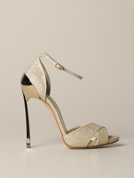 Sandales Tecno blade Casadei à paillettes