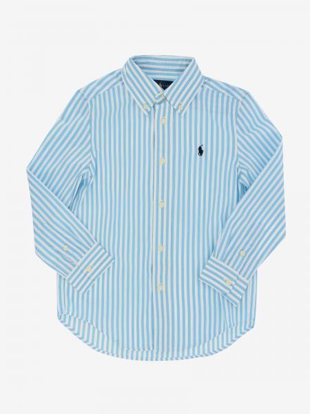 Polo Ralph Lauren Boy Hemd mit Logo