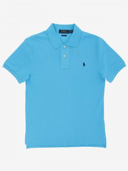 Polo Polo Ralph Lauren Boy con logo ricamato