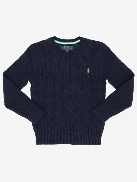Polo Ralph Lauren Boy logo 刺绣上衣
