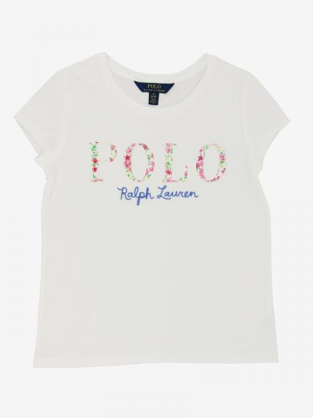 T-shirt Polo Ralph Lauren Girl con logo