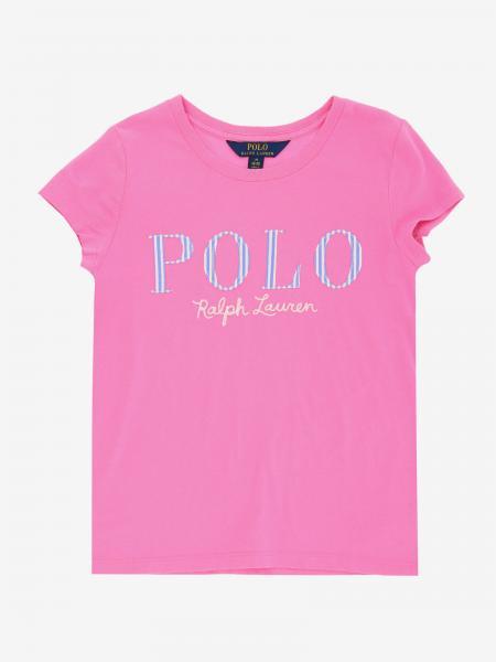 T-shirt Polo Ralph Lauren Girl avec logo