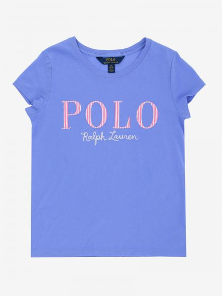 T-shirt Polo Ralph Lauren Girl avec logo