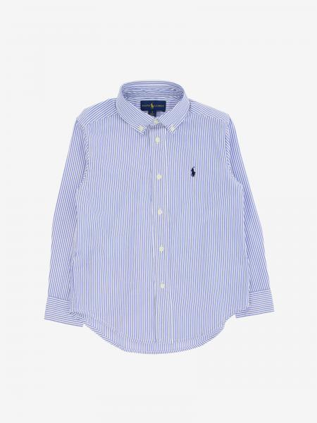Polo Ralph Lauren Kid logo 衬衫