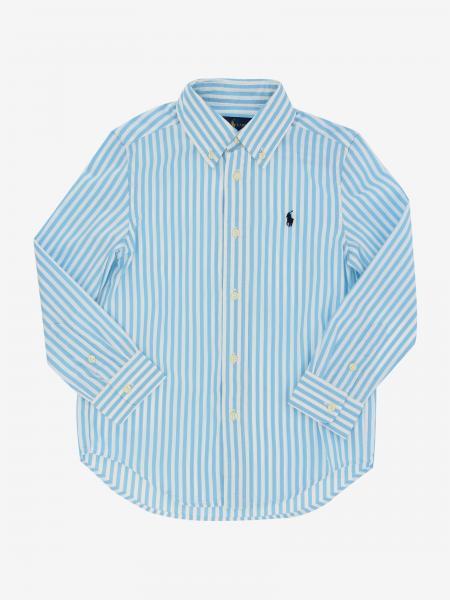 Polo Ralph Lauren Kid Hemd mit Logo