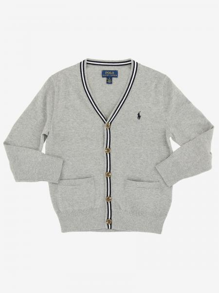 Polo Ralph Lauren Toddler Strickjacke mit Logo