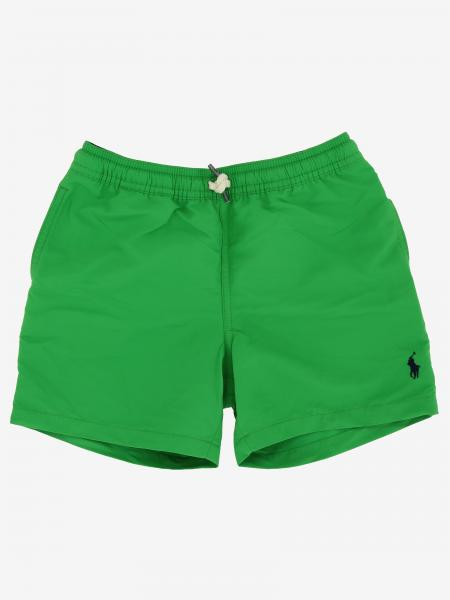 Short de bain Polo Ralph Lauren Kid avec logo