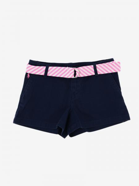 Pantaloncino Polo Ralph Lauren Kid con cintura