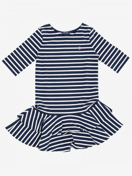 Abito Polo Ralph Lauren Toddler con logo
