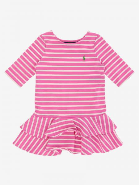 Robe Polo Ralph Lauren Toddler avec logo