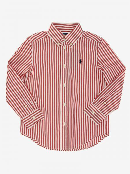 Polo Ralph Lauren Toddler logo 衬衫