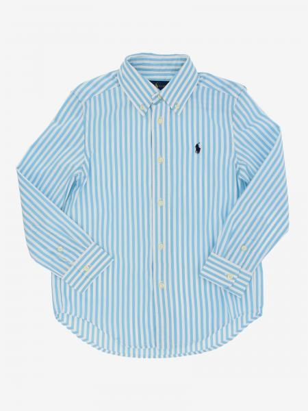 Polo Ralph Lauren Toddler Hemd mit Logo