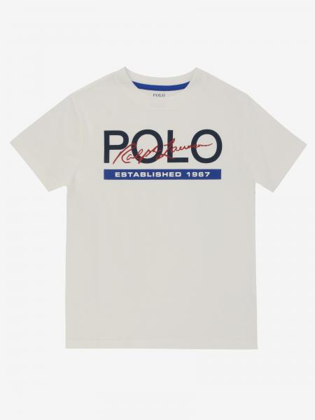 T-shirt Polo Ralph Lauren Toddler con stampa logo