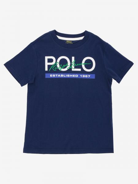 T-shirt Polo Ralph Lauren Toddler con stampa logo