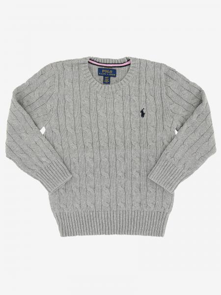 Polo Ralph Lauren Kid sweater with embroidered logo
