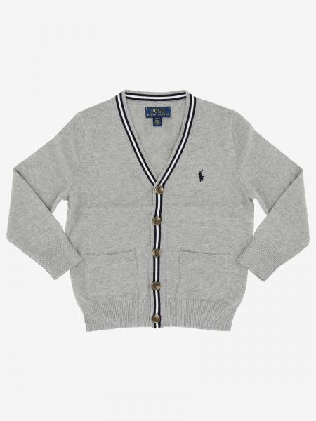 Cardigan Polo Ralph Lauren Toddler con logo