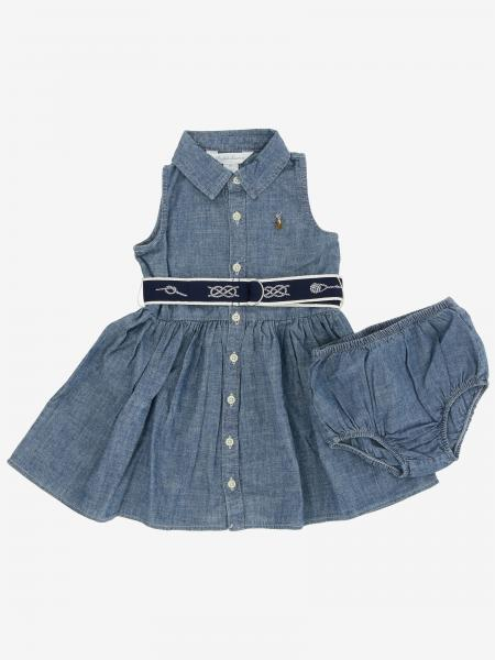 Abito chambray Polo Ralph Lauren Infant