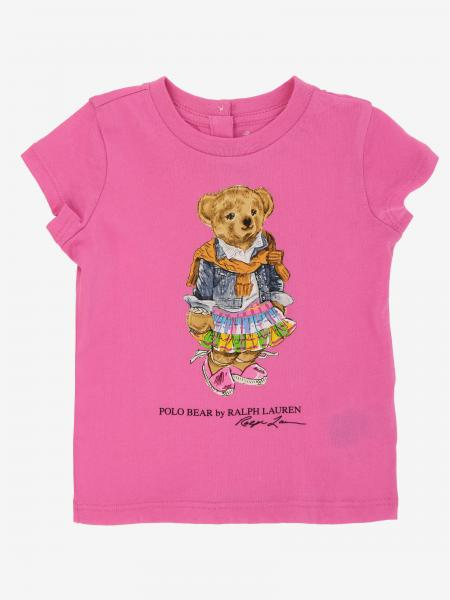 T-shirt Polo Ralph Lauren Infant avec imprimé ourson