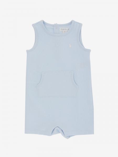 Polo Ralph Lauren Infant logo纯棉背带裤