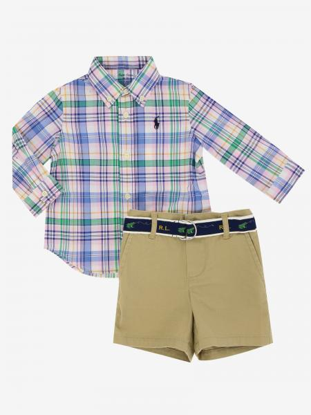 Ensemble chemise + bermuda Polo Ralph Lauren Infant