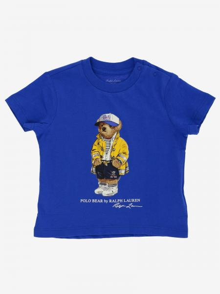 T-shirt Polo Ralph Lauren Infant con stampa orso