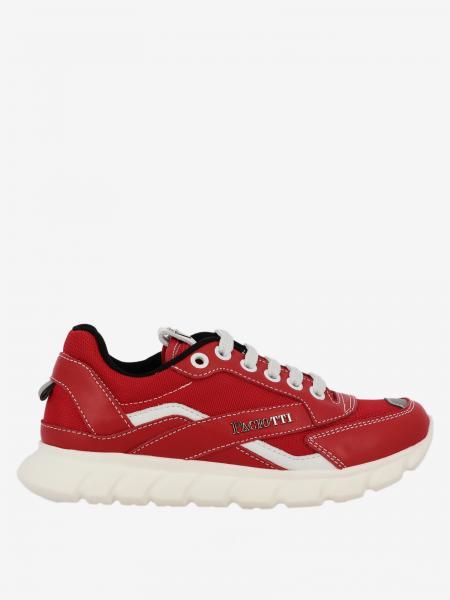 Sneakers Paciotti 4US in pelle e rete