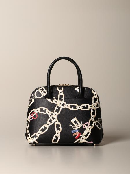 Furla bag with chain print