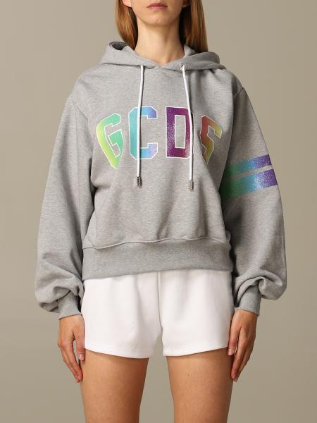 GCDS hoodie with logo print