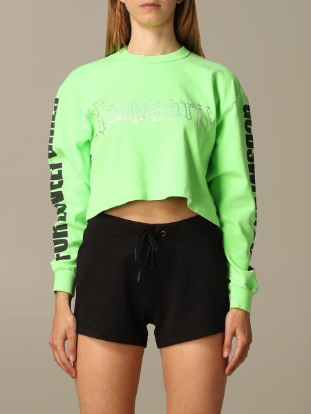 GCDS long-sleeved sweatshirt with Hello Kitty print