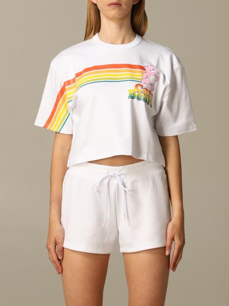 T-shirt GCDS con big stampa care bears
