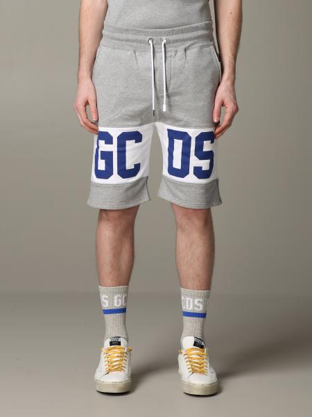 GCDS jogging shorts with contrasting band and logo