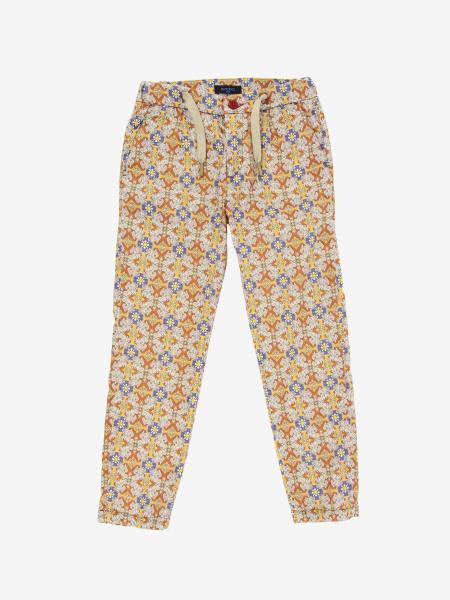 Pantalone Baronio con stampa maioliche