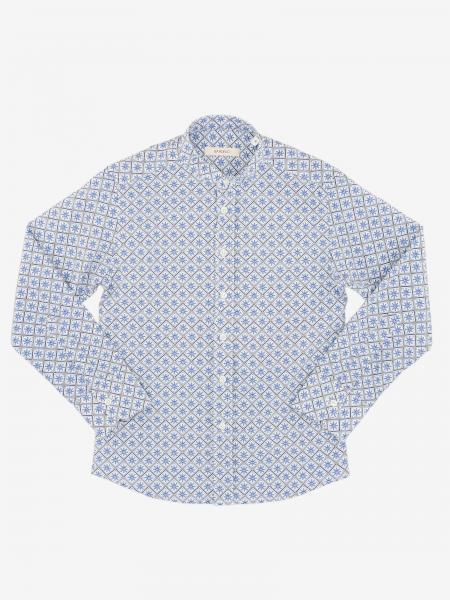 Boronio shirt in micro-patterned cotton