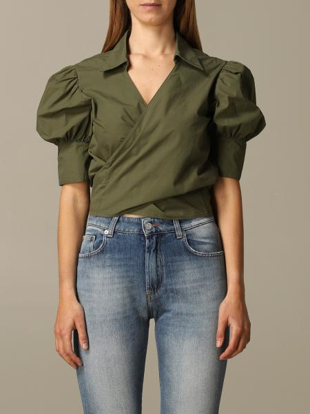 Camicia Department 5 cropped in popeline