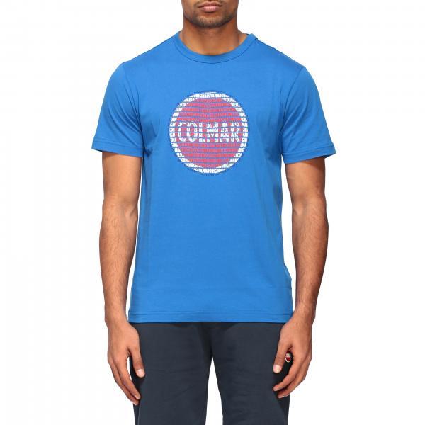Colmar logo印花圆领T恤