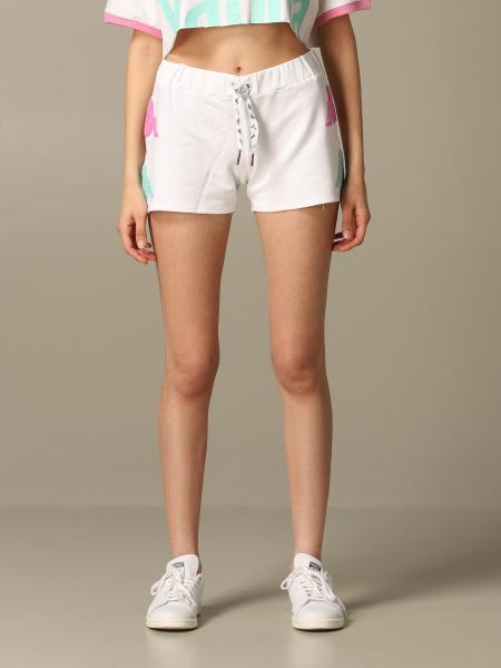 Shorts Kappa con big logo bicolor