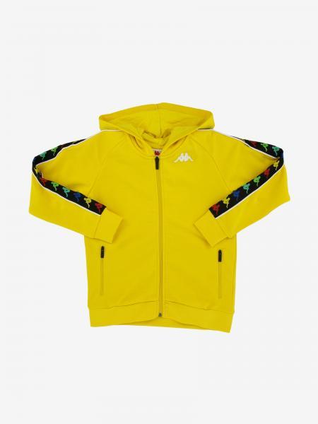 Kappa sweatshirt with hood and zip