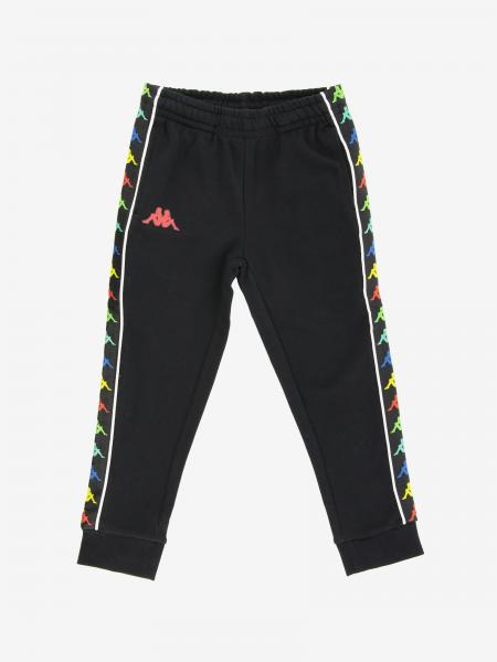 Kappa jogging trousers with logoed bands
