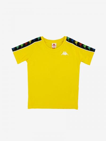 Kappa T-shirt with logo and bands