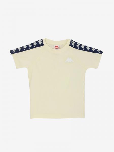 T-shirt Kappa con logo e bande
