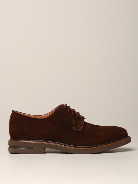 Brimarts suede derby with rubber sole