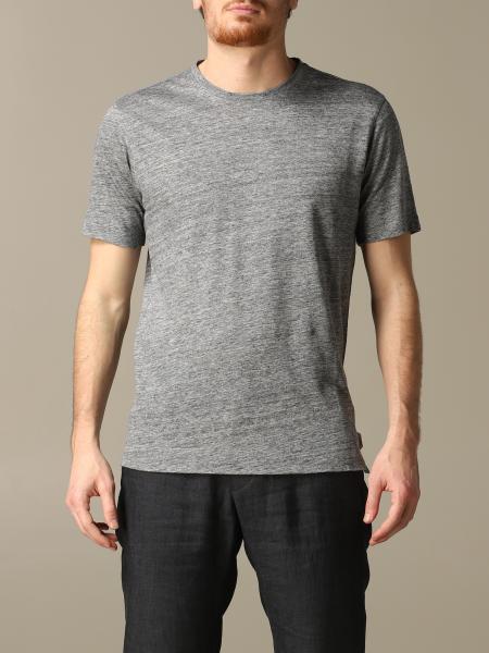 T-shirt Z Zegna en lin lavé