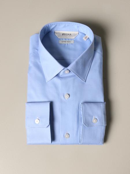 Z Zegna Hemd mit italienischem Kragen