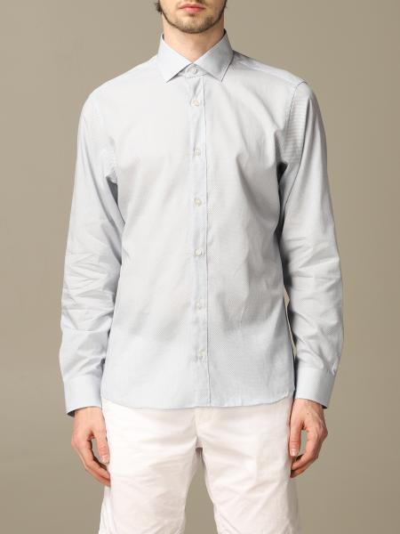 Z Zegna natural stretch shirt