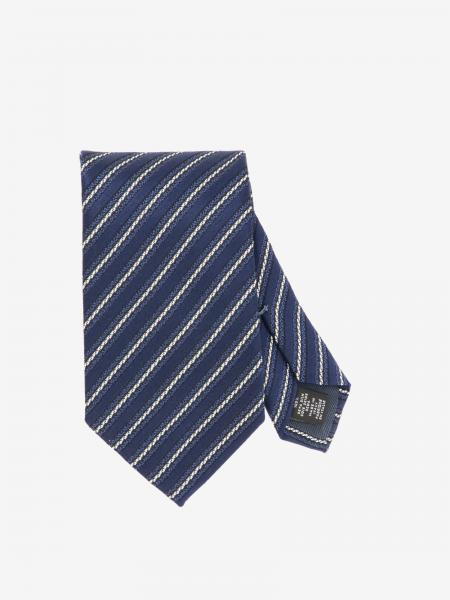 Cravatta Ermenegildo Zegna in seta a righe diagonali