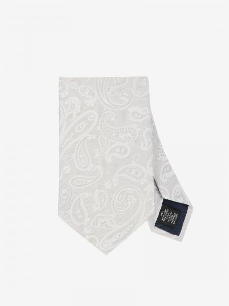 Cravatta Ermenegildo Zegna in seta stampata